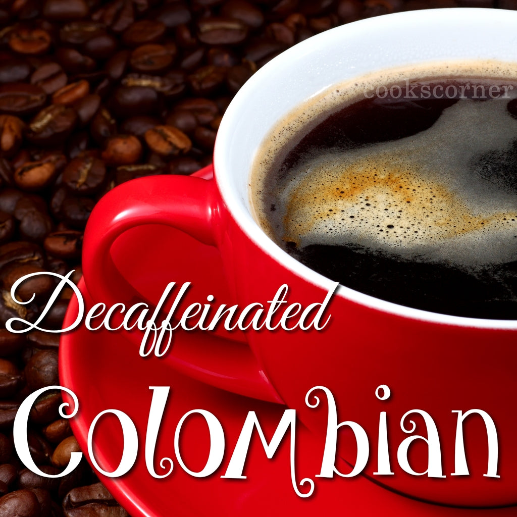 DECAF. Colombian Coffee