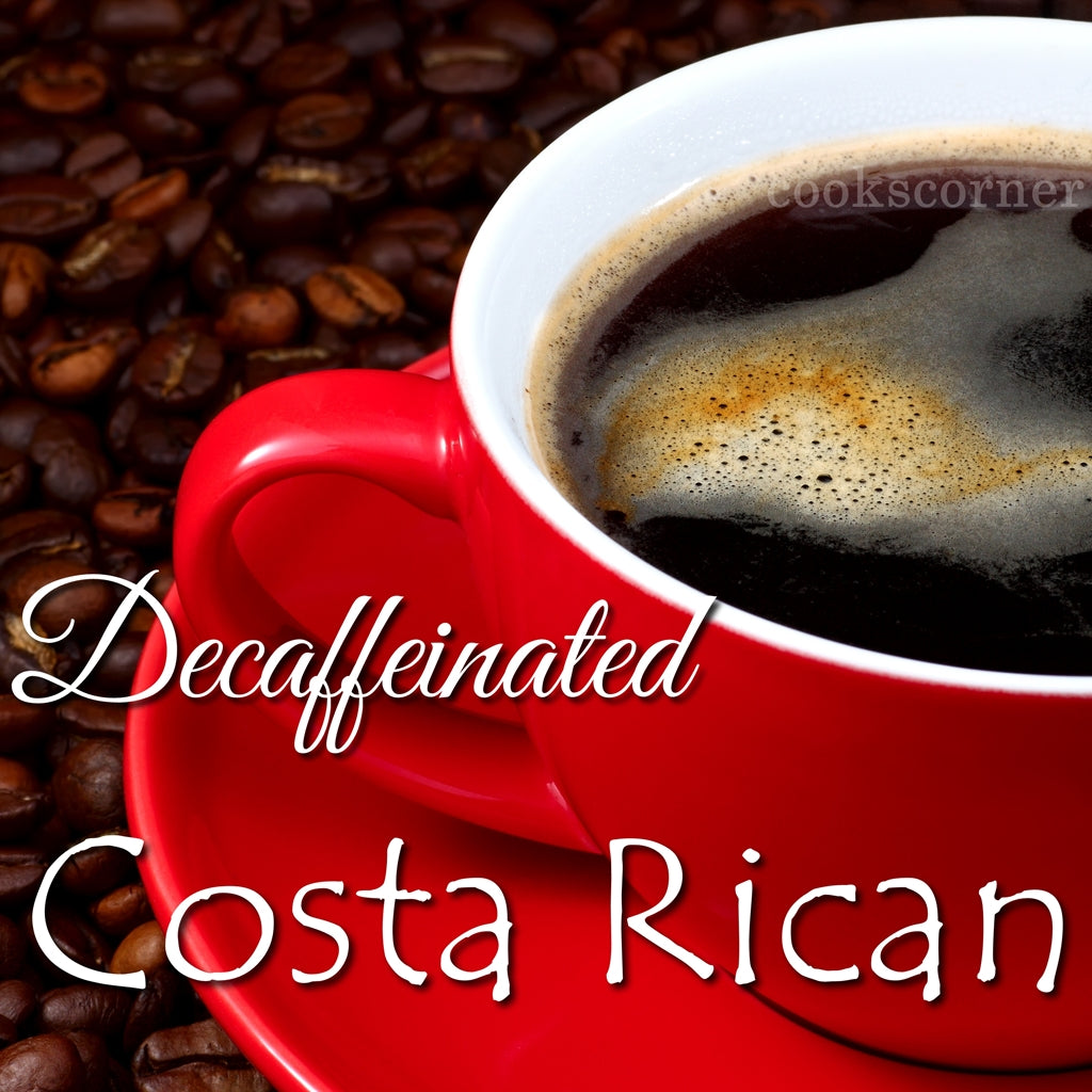 DECAF. Costa Rica Coffee