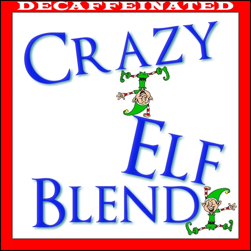 Decaf Crazy Elf Blend Flavored Coffee