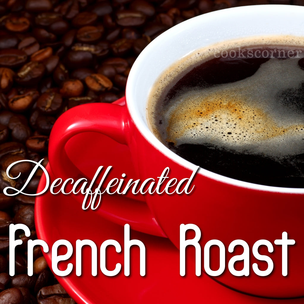 Decaffeinated French Roast Coffee Beans