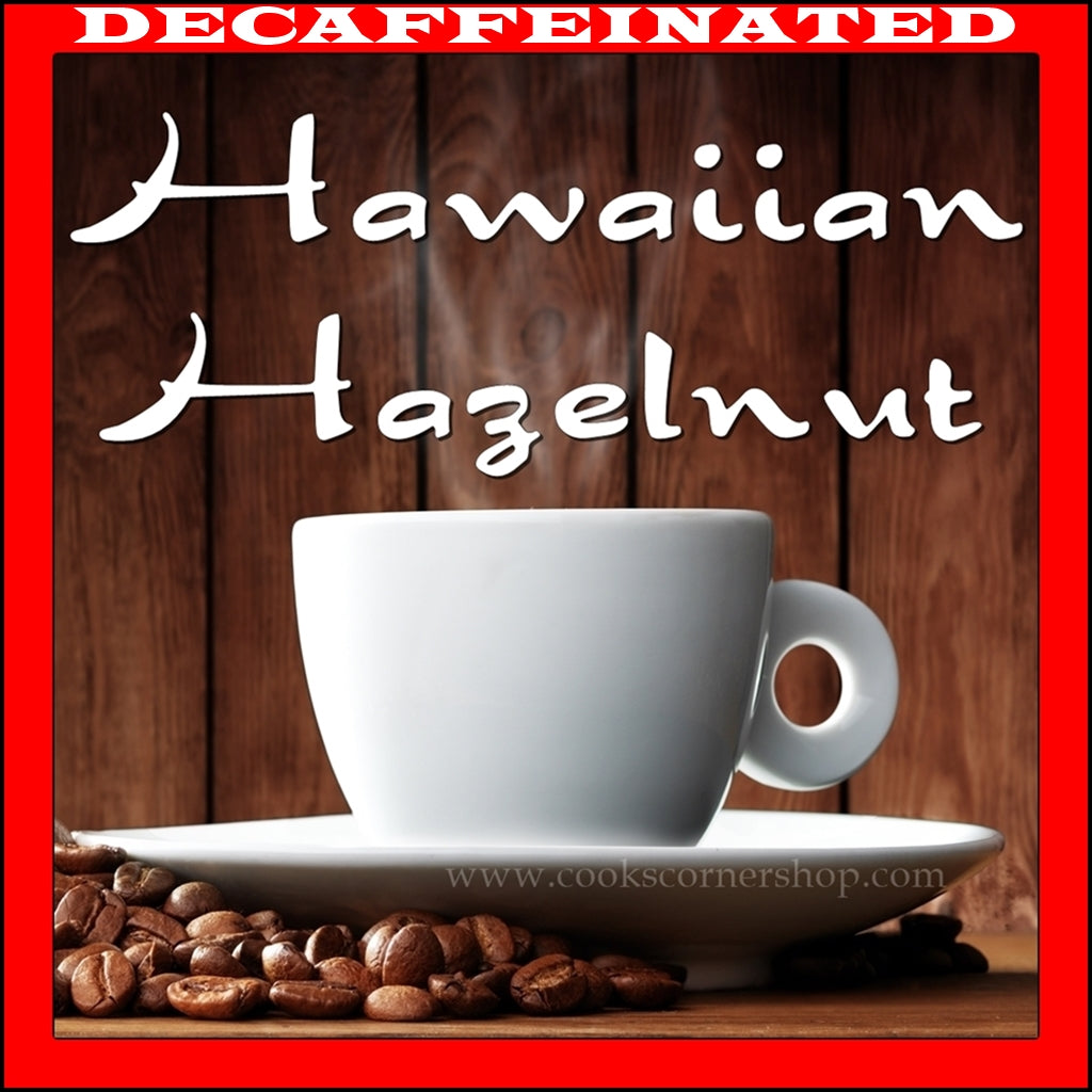 Decaf Hawaiian Hazelnut Flavored Coffee