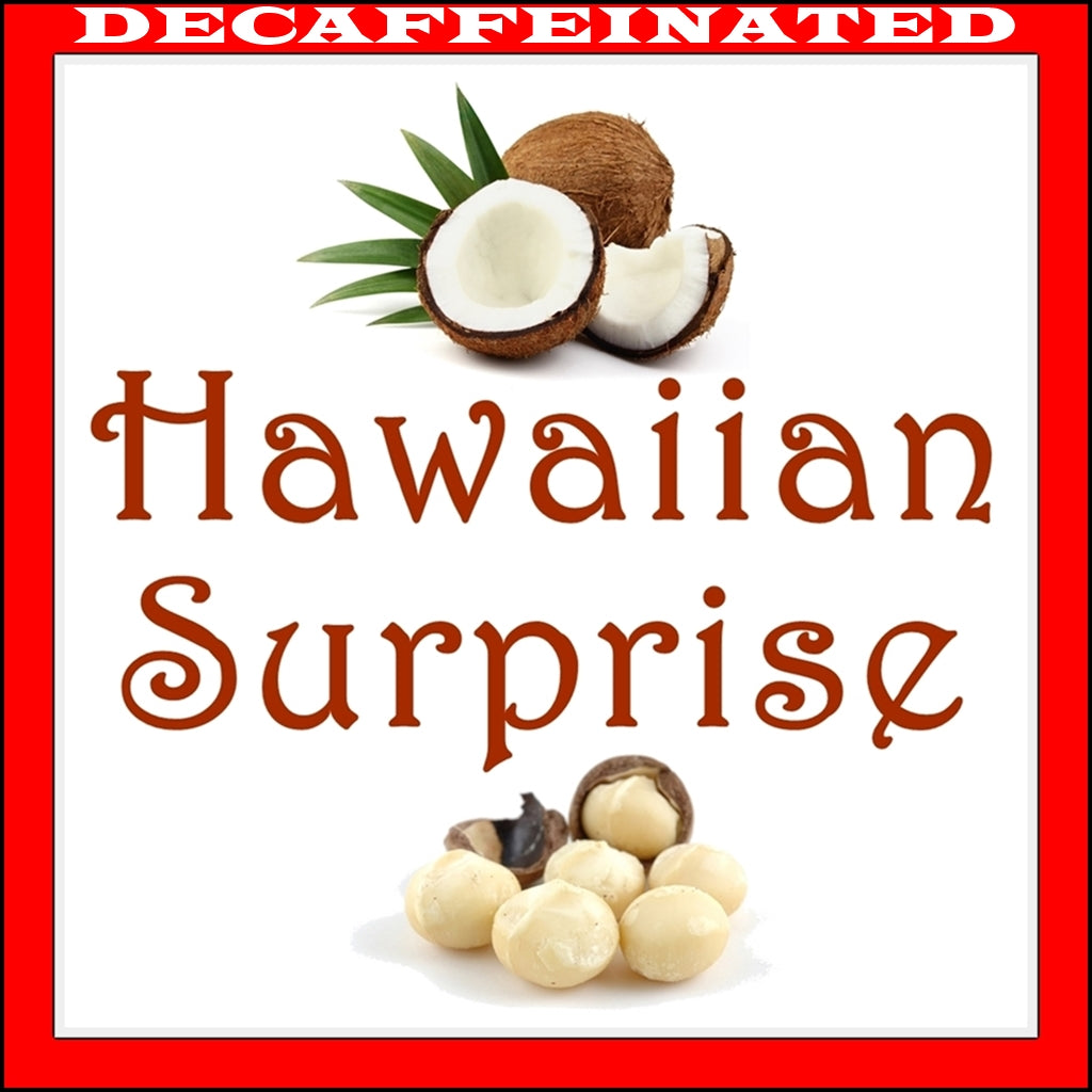 Decaf Hawaiian Surprise Flavored Coffee