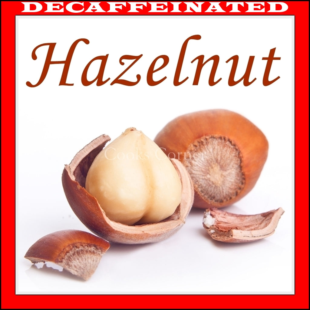 Decaf Hazelnut Flavored Coffee