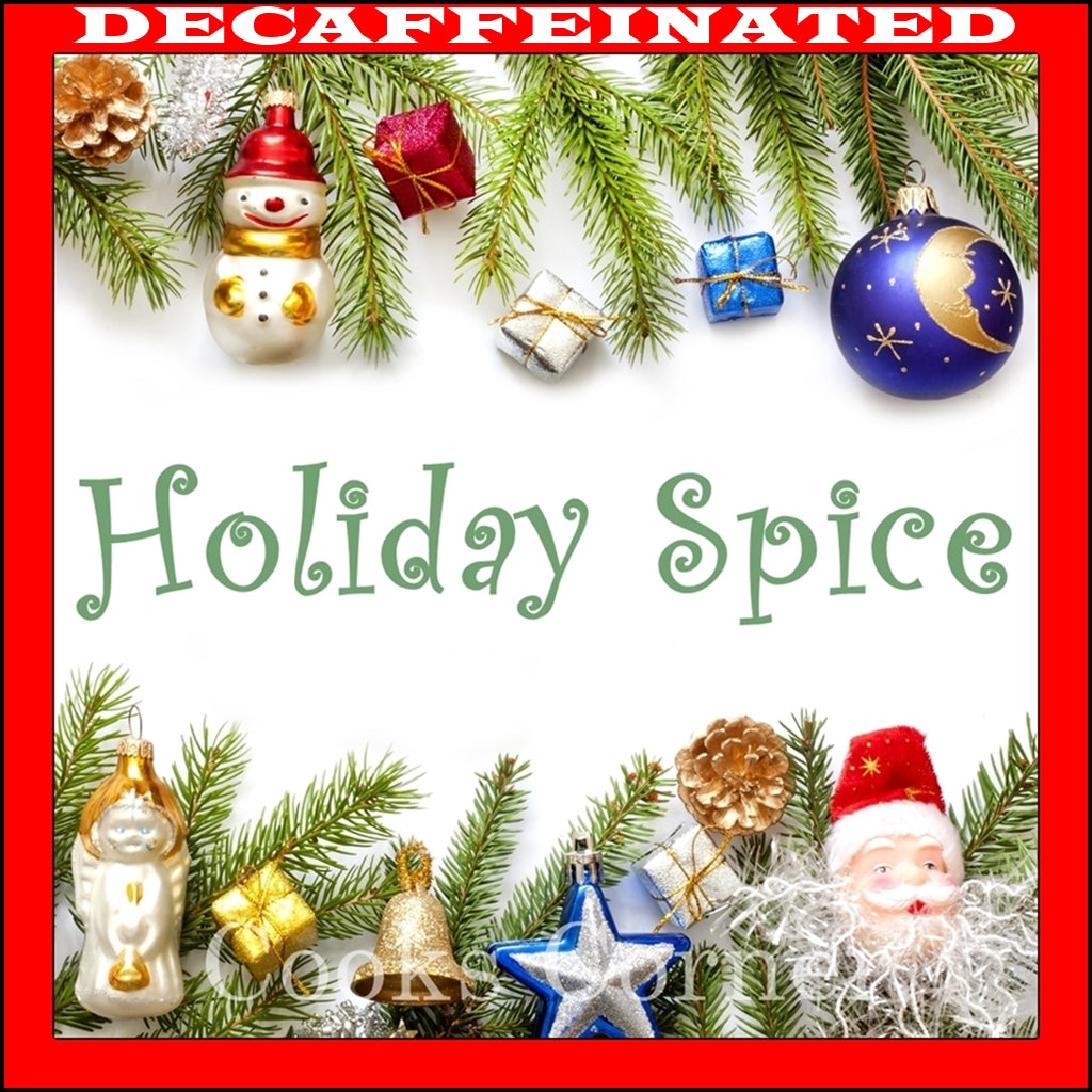 Decaf Holiday Spice Flavored Coffee