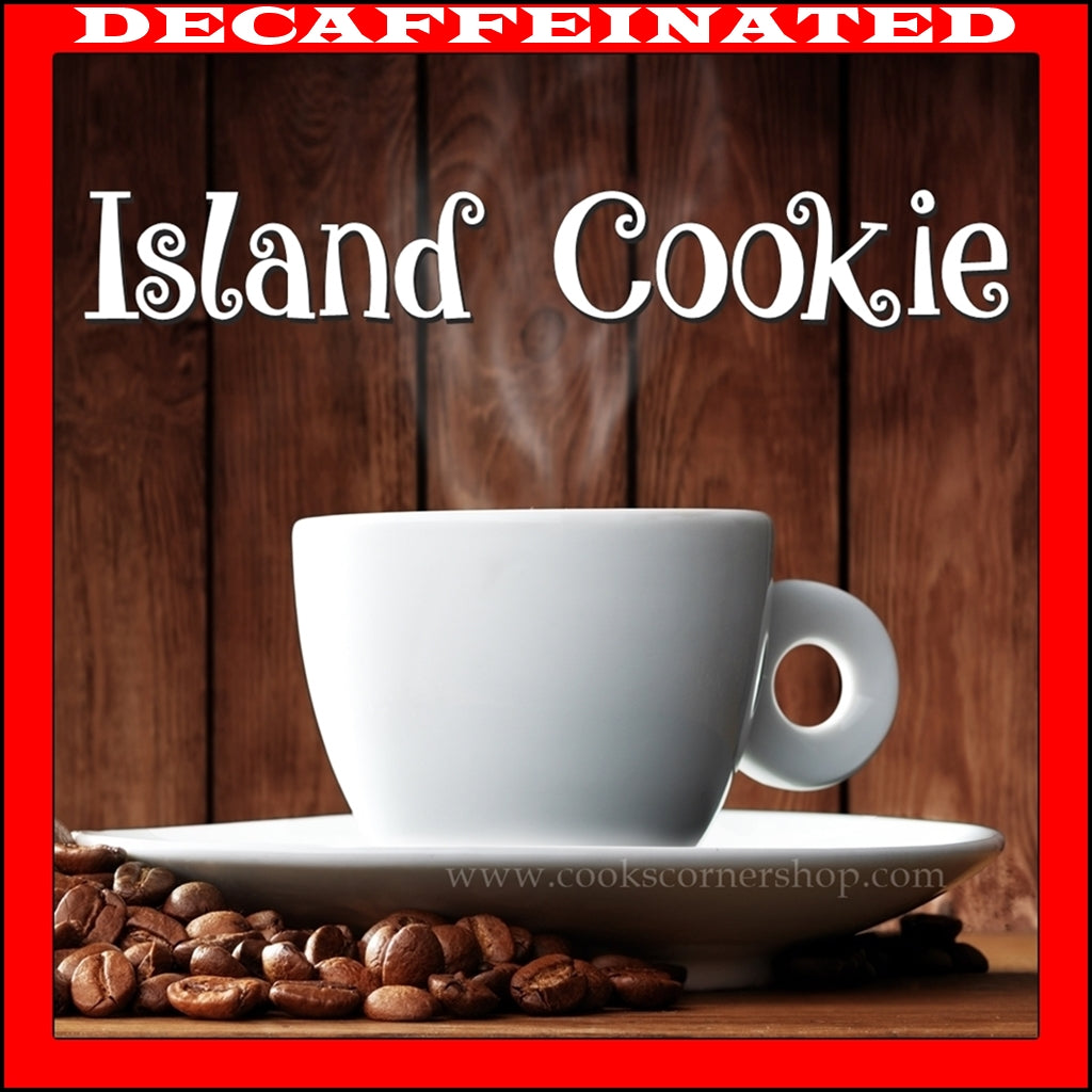 Decaf Island Cookie Flavored Coffee