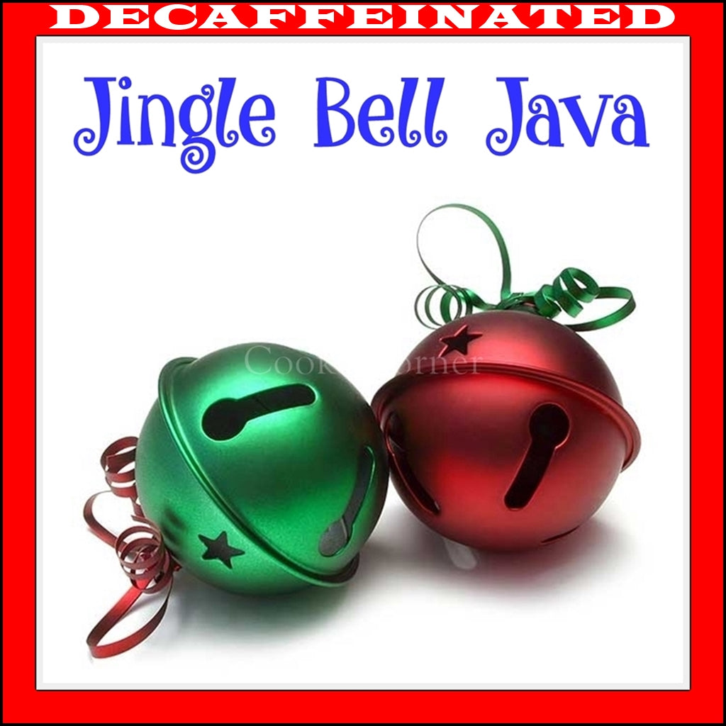 Decaf Jingle Bell Java Flavored Coffee