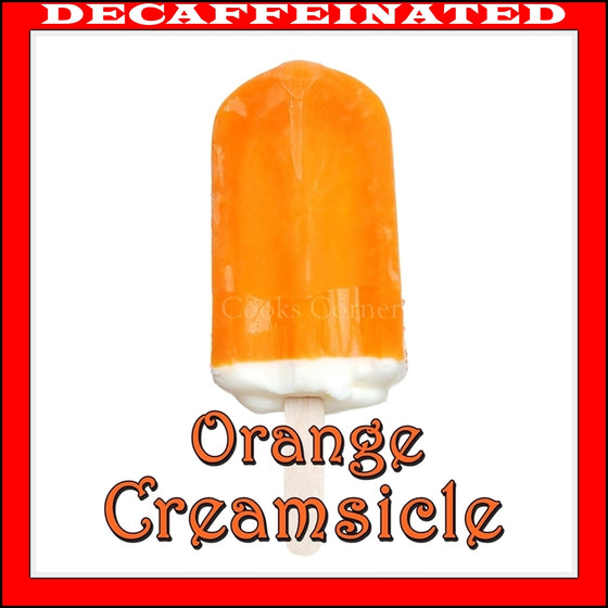 Decaf  Orange Creamsicle Flavored Coffee