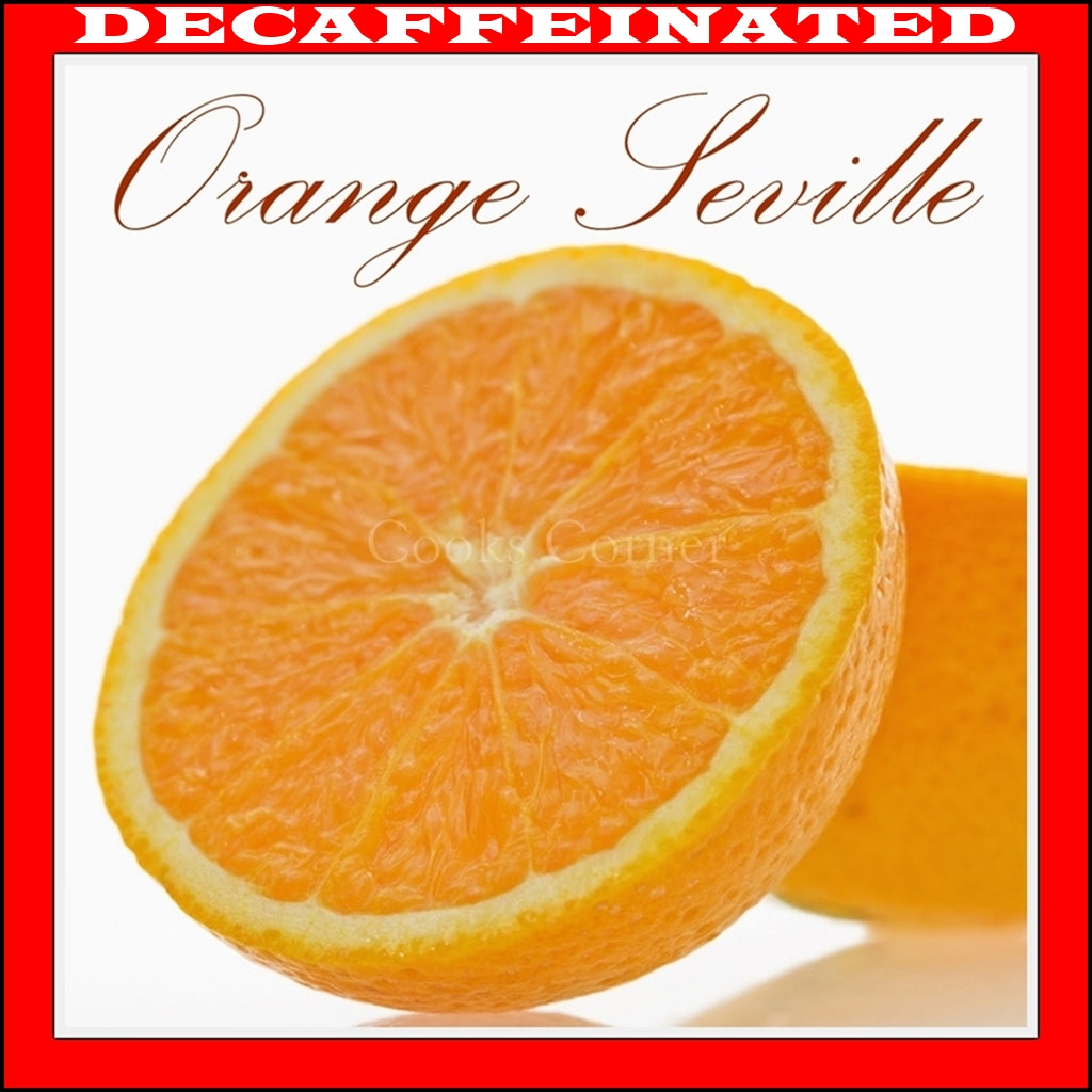Decaf Orange Seville Flavored Coffee