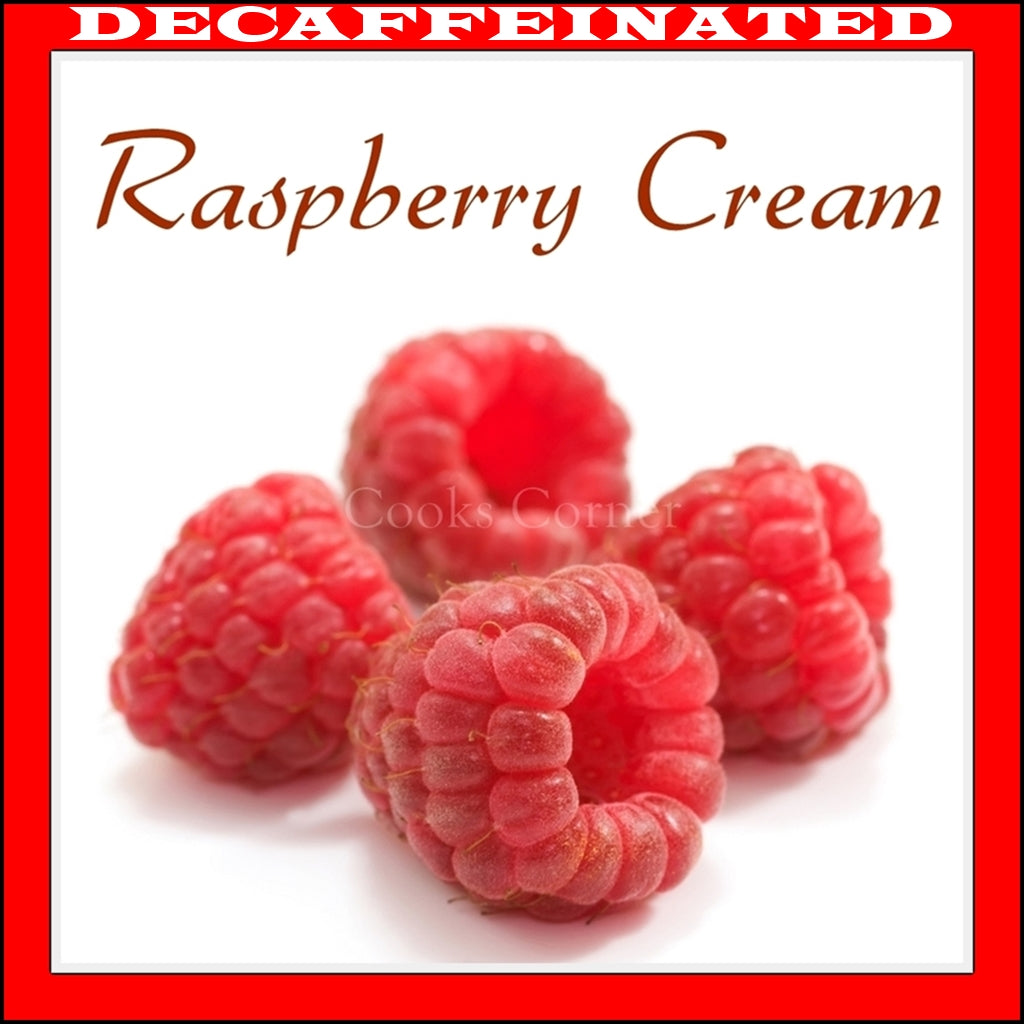 Decaffeinated Raspberry Cream