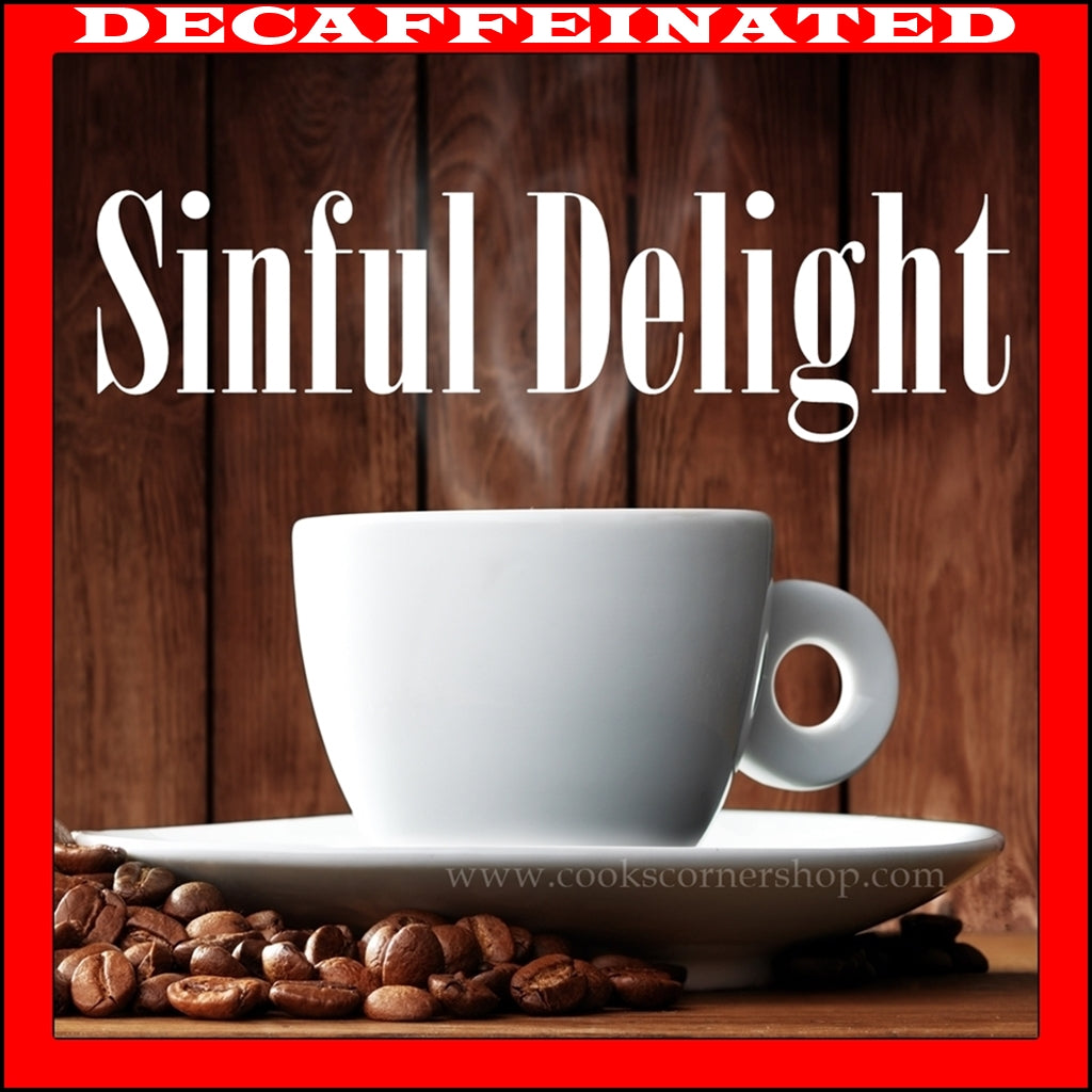 Decaffeinated Sinful Delight Flavored Coffee