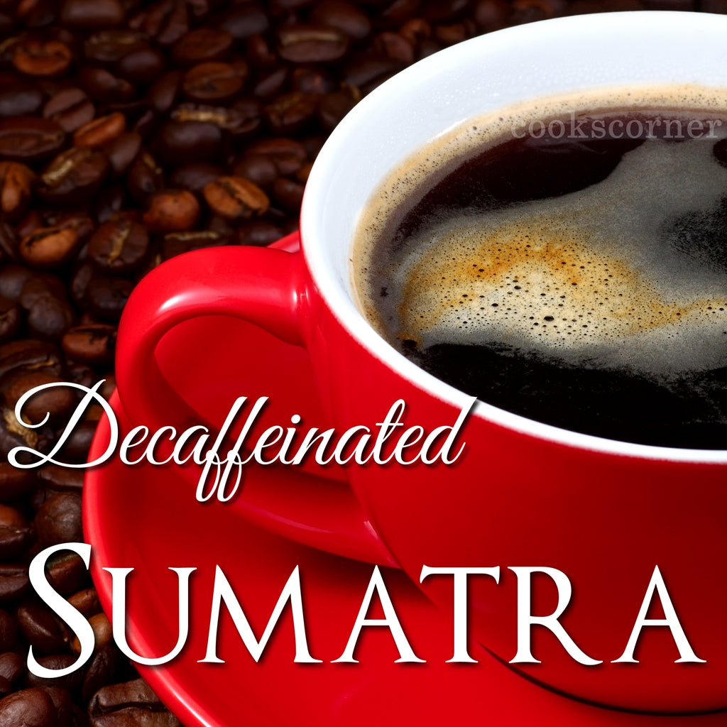 DECAF. Sumatra Coffee