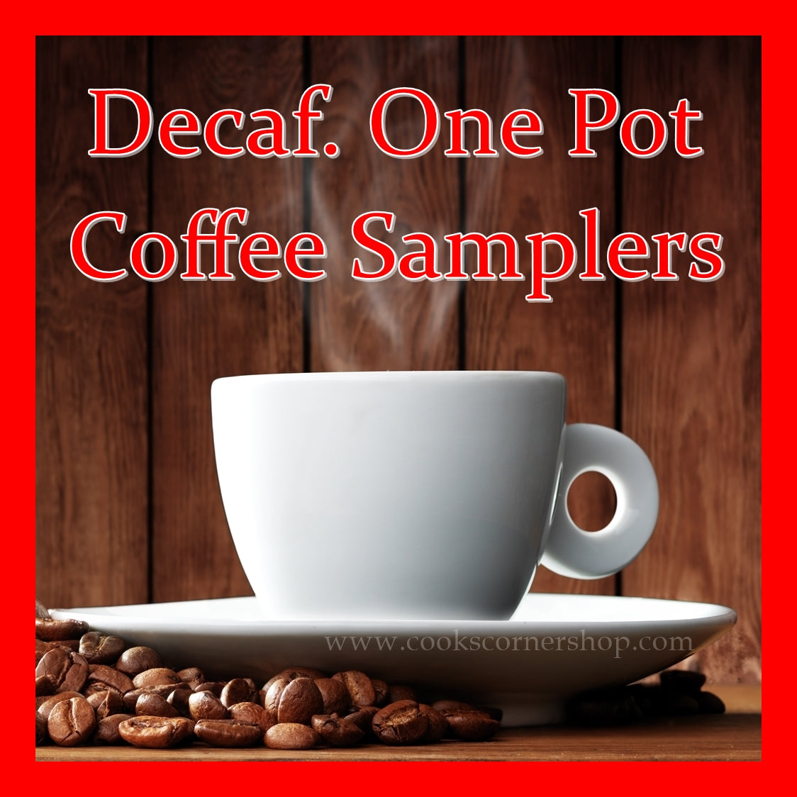 Decaf One Pot Coffee Samplers