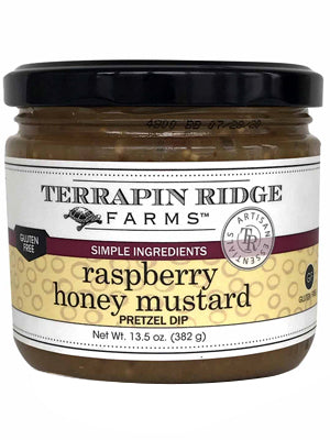 Raspberry Honey Mustard Pretzel  - TR