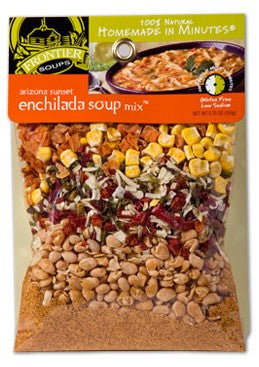 Frontier Soups Arizona Sunset Enchilda Soup Mix