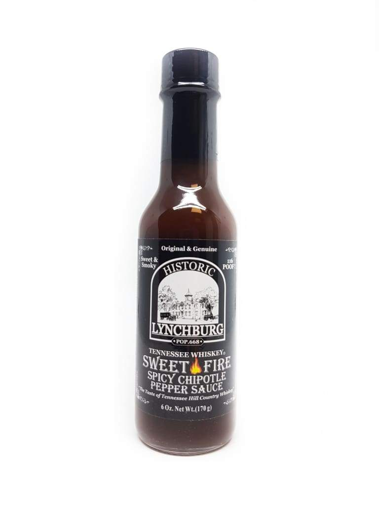 Tennessee Whiskey Sweet Fire Spicy Chipotle Pepper Sauce - HL