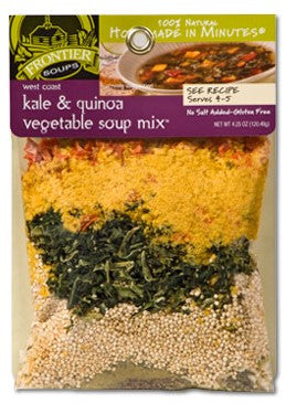 West Coast Kale and Quinoa Vegetable Soup Mix