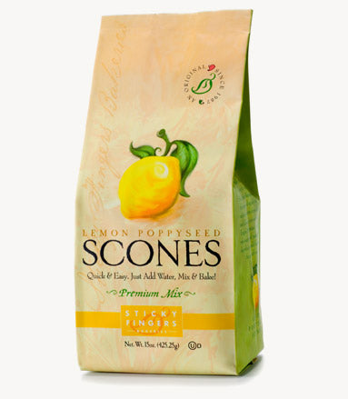 Lemon Poppyseed Scones - SFB