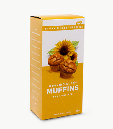 Morning Glory Premium Muffin Mix by Sticky Fingers Bakeries