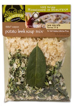 Frontier Soups Idaho Outpost Potato Leek Soup Mix