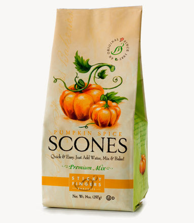 Pumpkin Spice Scone Mix by Sticky Fingers Bakeries