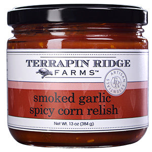Smokey Garlic Spicy Corn Relish - TR
