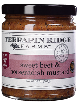 Sweet Beet and Horseradish Mustard - TR