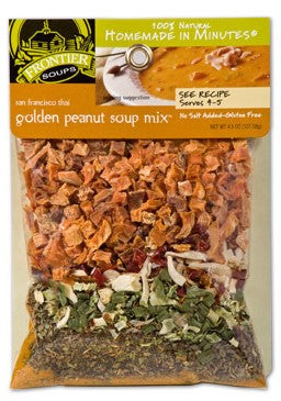Frontier Soups San Francisco Thai Golden Peanut Soup Mix