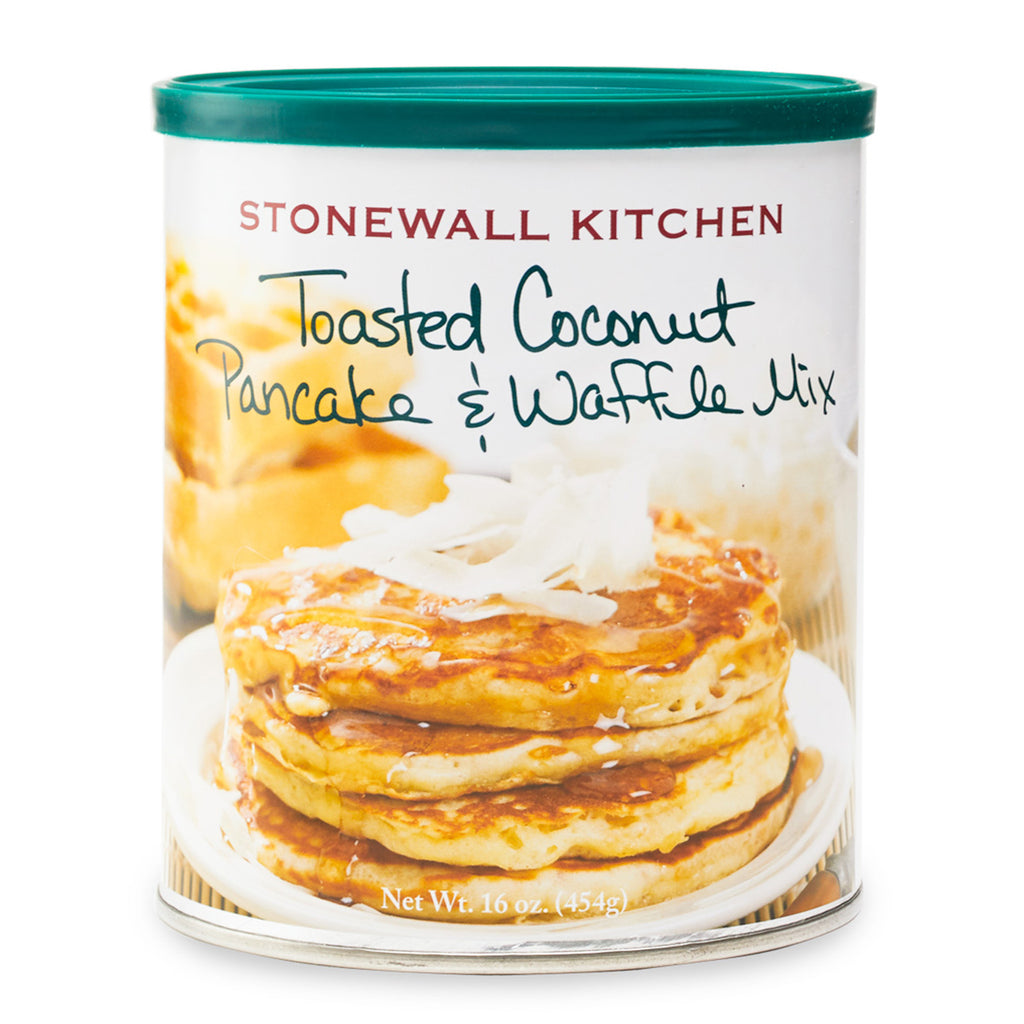 Toasted Coconut Pancake & Waffle Mix by Stonewall Kitchen