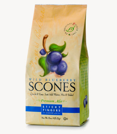 Wild Blueberry Scone Mix by Sticky Fingers Bakeries