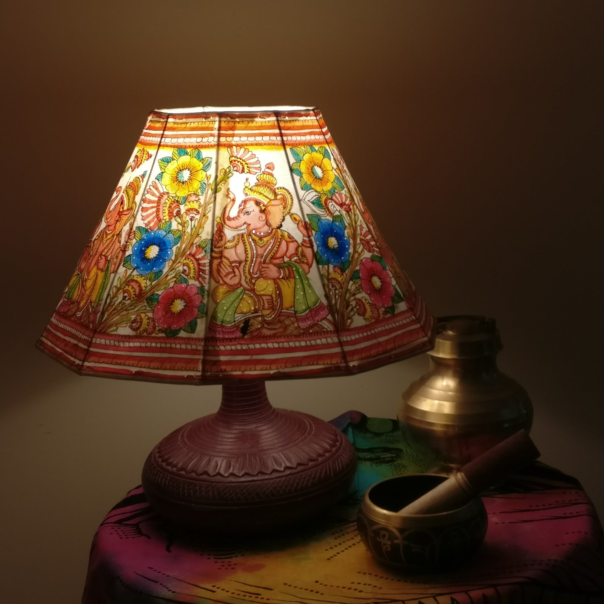 pin pinterest lamps leather tooled shades lamp billy