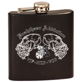 Drahthaar Addiction - DA Logo Stainless Steel Flask