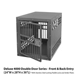 Zinger - Deluxe Series Front/Back Entry Dog Crate