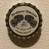 Drahthaar Addiction - DA Logo Magnetic Bottle-cap