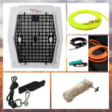 Drahthaar Addiction - Versatile Hunting Dog Training Starter Kit (With Ruff Tough Crate)