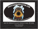 "Drahthaar Addiction - DA Store Calendar 2019 ""Bearded Memes"""