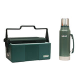 Adventure Heritage Lunch Box/Bottle Combo Green