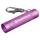 Pink Galaxy Ray Personal Red LED Keychain Light