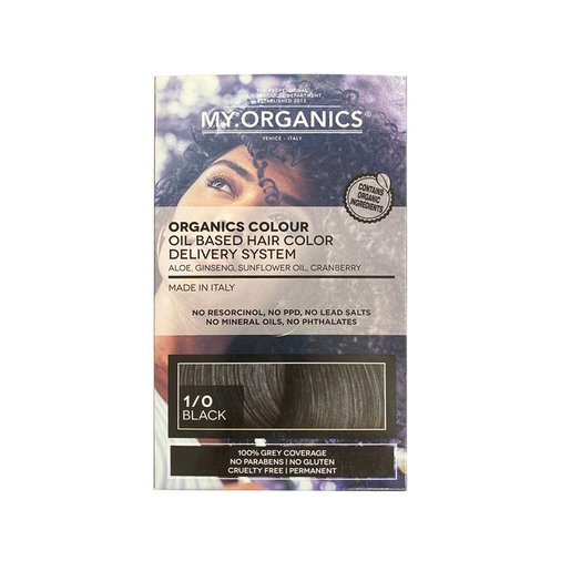 My.Organics ORGANIC COLOUR OIL BASED HAIR COLOR DELIVERY SYSTEM 天然有機染髮劑