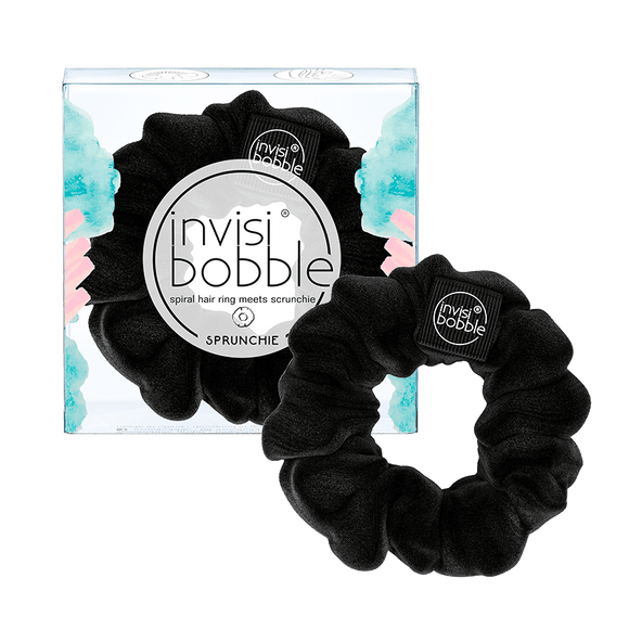 Invisibobble SPRUNCHIE True Black (黑色)