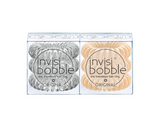 Invisibobble®Original Duo Pack Crystal Clear & To Be or Nude to Be (經典套裝)(透明及裸色)