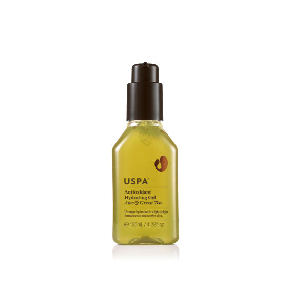 USPA Antioxidant Hydrating Gel Aloe & Green Tea 蘆薈綠茶保濕精華啫喱