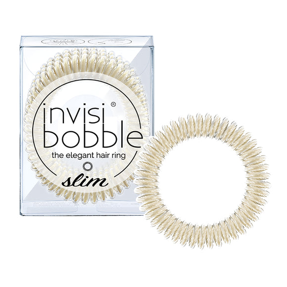Invisibobble SLIM Stay Gold 纖細系列(金色)