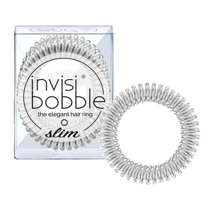 Invisibobble SLIM Chrome Sweet Chrome 纖細系列(銀色)