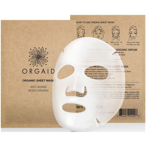 Orgaid Anti-Aging & Moisturizing Organic Sheet Mask 有機抗老保濕面膜 (4片)
