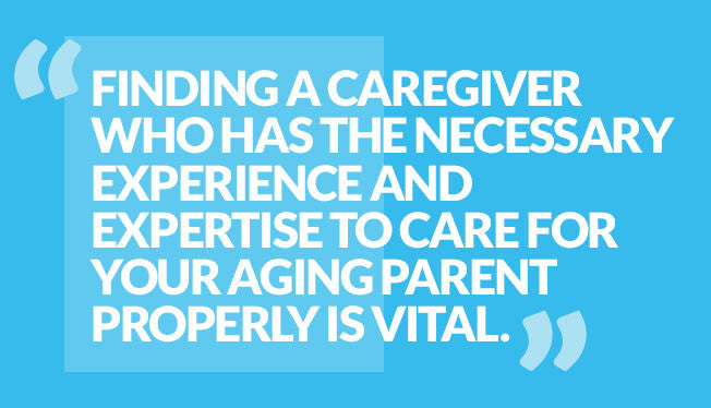 Finding a caregiver quote
