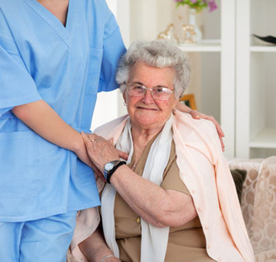 Senior in home care