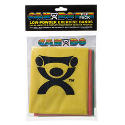 CanDo Exercise Band Pack-Easy Low Powder