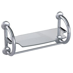 Roscoe 2-in-1 Grab Bar and Towel Shelf