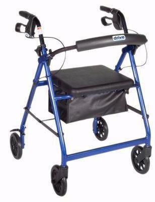 4-wheel Rollator, loop brake