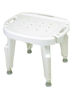 Adjustable shower seat , no arms, no back